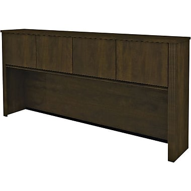 Bestar Prestige + Collection Credenza Hutch, Chocolate