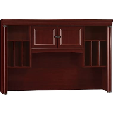 Bush® Birmingham Collection Credenza Hutch, Harvest Cherry