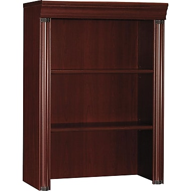 Bush® Birmingham Collection Lateral File Hutch, Harvest Cherry