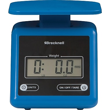 Brecknell 7 lb Electronic Postal Scale, Blue