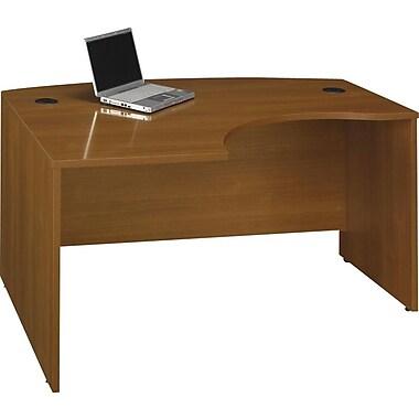 Bush® Westfield Collection Left L-Bow Desk, Cafe Oak