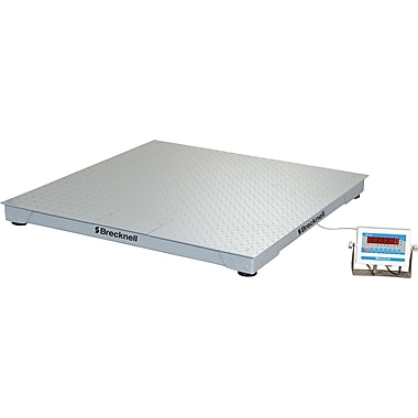 Brecknell 5000 lb. Pallet Scales and Custom Weighing Systems, Gray