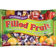 Washburn Filled Fruit Hard Candies, 5 lb. Bag