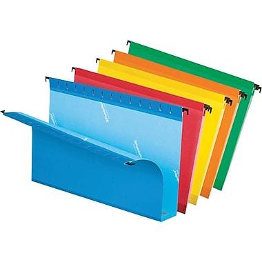 Pendaflex® - Chemises suspendues SureHook®, grande capacité, expansion 2 po, format légal, 8 1/2 po x 14 po, couleurs variées