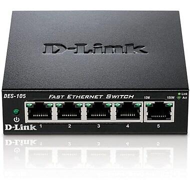 D-Link® DES-105 5 Port Fast Ethernet Switch