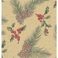 Pine on Kraft Gift Wrap