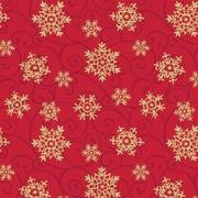 Snowflake Medallions Gift Wrap