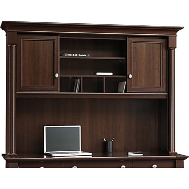 Sauder® Palladia Collection Large Hutch, Select Cherry