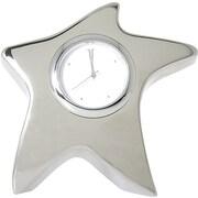 Baudville® Silver Star Desktop Clock