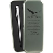 Baudville® Pursuit of Excellence Silver Pen and Pencil Gift Set