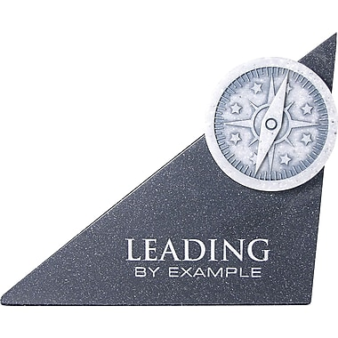 Baudville® in.Leading by Examplein. Compass Sculpture Desktop Award