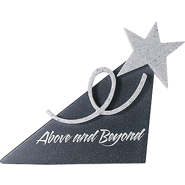 Baudville® in.Above and Beyondin. Shooting Star Sculpture Desktop Award