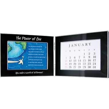 Baudville® in.You Make a World of Differencein. Perpetual Desktop Calendar