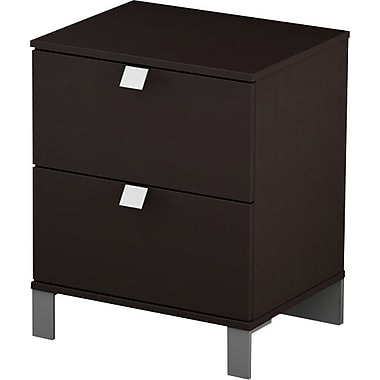 South Shore Cakao Collection Night Stand, Chocolate