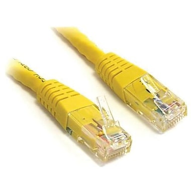 StarTech.com 1000 ft Yellow Cat 6 Stranded UTP Patch Cable
