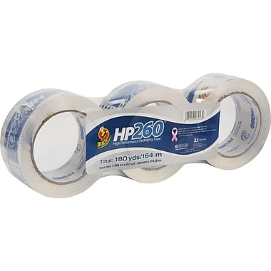 Duck® HP260 High-Performance Packing Tape, 1.88