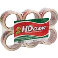 Duck® Crystal-Clear Packaging Tape, 1.88in. x 54.6 yds, 6 Rolls