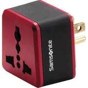 Samsonite Grounded Adapter Plug, U.S. Plug