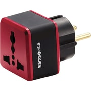 Samsonite Grounded Adapter Plug, Europe & Middle East