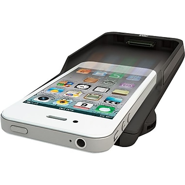 3M Projector Sleeve for iPhone 4/4s, Black/Silver