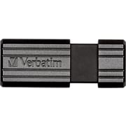 Verbatim PinStripe 8GB USB 2.0 USB Flash Drive (Black)