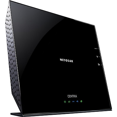 NETGEAR Centria N900 Dual Band WiFi Gigabit Router with Built-in SATA Storage Bay WNDR4700