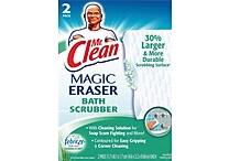 Mr. Clean® Magic Eraser Bath Scrubber, 2/Pack