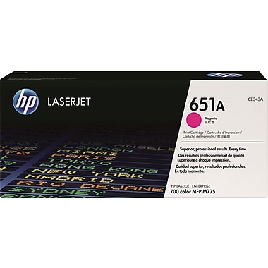 HP 651A Magenta Toner Cartridge (CE343A)