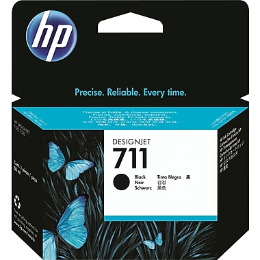 HP 711 80ml Black Ink Cartridge (CZ133A), High Yield