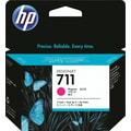 HP 711 Magenta Ink Cartridge (CZ135A) 29ml, 3/Pack