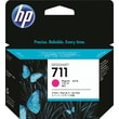 HP 711 29ml Magenta Ink Cartridge (CZ135A), 3/Pack