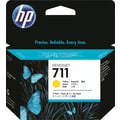 HP 711 Yellow Ink Cartridge (CZ136A), 29ml, 3/Pack