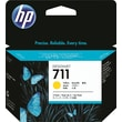 HP 711 29ml Yellow Ink Cartridge (CZ136A), 3/Pack