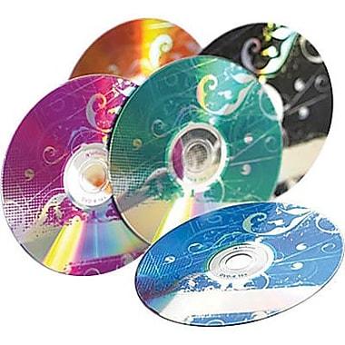 Verbatim® - DVD-R série kaléidoscope, 4,7 Go 16x, variés, paq./20