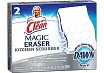 Mr. Clean® Magic Eraser Unscented Kitchen Scrubber, 2/Pack