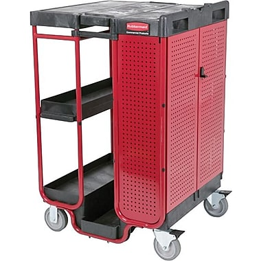Rubbermaid® Ladder Cart with Cabinet