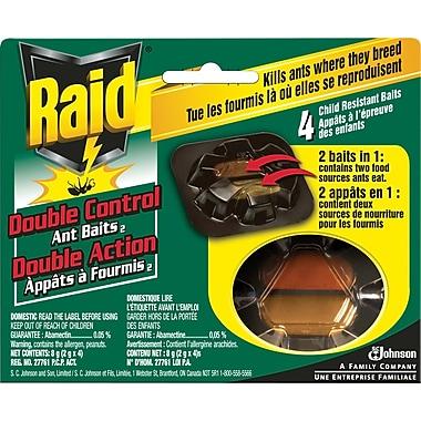 Raid® - Appâts à fourmis, Double Control