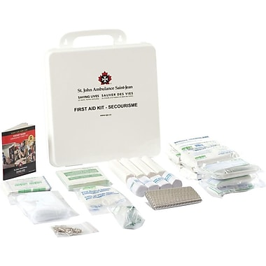 St. John Ambulance First Aid Kit, Quebec