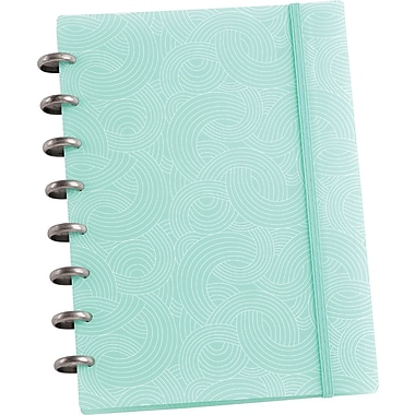 Martha Stewart Home Office™ with Avery™ Discbound Notebook, Blue Wave, Smooth, 6-1/2in. x 9in.