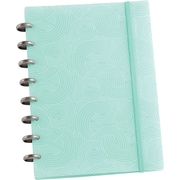 Martha Stewart Home Office™ with Avery™ Discbound Notebook, Blue Wave, Smooth, 6-1/2 x 9
