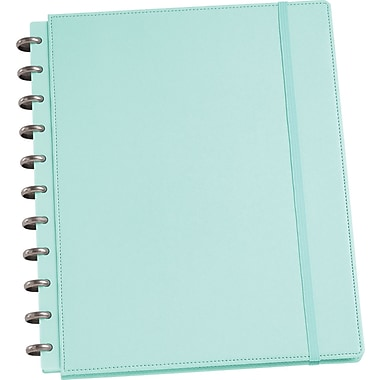 Martha Stewart Home Office™ with Avery™ Discbound Notebooks, Blue, Textured, 9-1/2in. x 11-1/2in.