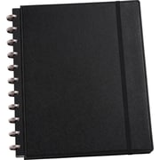 Martha Stewart Home Office™ with Avery™ Discbound Notebook, Black, Textured, 9-1/2 x 11-1/2