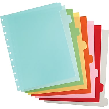 Martha Stewart Home Office™ with Avery™ Discbound Notebook Dividers, Classic, 8-Tab Set, 9in. x 11in.