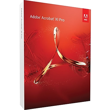 Adobe Acrobat Pro XI for Windows (1-User) [Boxed]