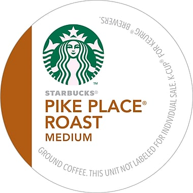 Keurig K-Cup Starbucks Pike Place Roast Cofee, Regular, 24/Pack