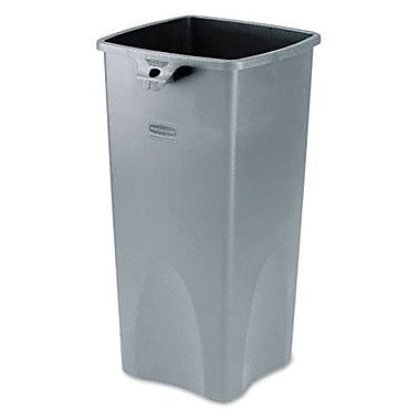 Rubbermaid® Untouchable Square Container, Grey
