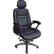 Wild Sports MLB Leather Executive Chair, Atlanta Braves