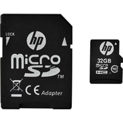 HP 32GB High Speed MicroSDHC Flash Memory Card