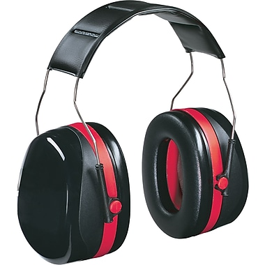 3M™ TEKK Protection™ Professional Protector Earmuffs, Black, 30 dB, 4/Pack
