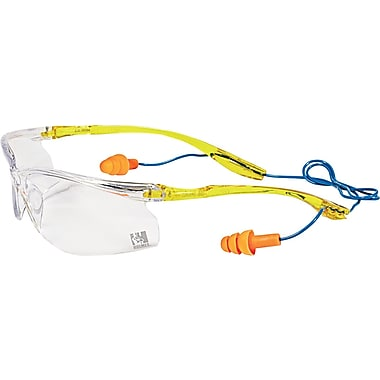 3M™ ANSI Z87.1 TEKK Protection™ Holmes Workwear® Safety Glasses, Clear with CSS, 6/Pack